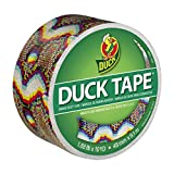 Duck Brand 283260 Printed Duct Tape, Techno Skin, 1.88 Inches x 10 Yards, Single Roll