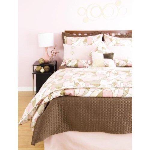 Full Bed Skirt (Pink Velvet) front-931671