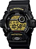 Casio #G8900-1 Men's X-Large Flash Alert World Time Black G Shock Watch