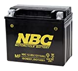 NBC [ エヌビーシー ] シールド型 バイク用バッテリー NBC 12-BS