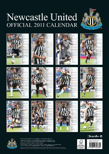 Official Newcastle FC 2011 Calendar
