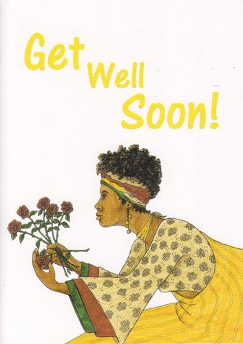Greeting Card Get Well