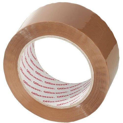 office-depot-3403669-50-mm-x-100-m-low-noise-industriale-nastro-adesivo-da-pacchi-colore-marrone-con