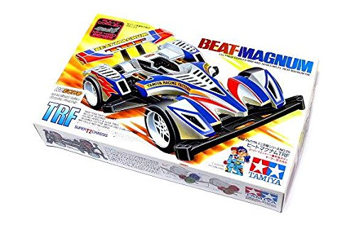 RCECHO® Tamiya Model Mini 4WD Racing Car 1/32 Beat-Magnum TRF Hobby 19425 with RCECHO® Full Version Apps Edition