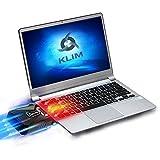 KLIM Cool Universaler Kühler für Spielekonsole Laptop PC [Version 2016] - Hochleistungslüfter für schnelle Kühlung - USB Warmluft-Abzug (Blau)