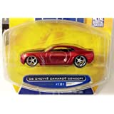 Big Time Muscle / 06 Chevy Camaro Concept #121 / Red / 1:64 Scale Die Cast Collectible / Jada Toys 2007