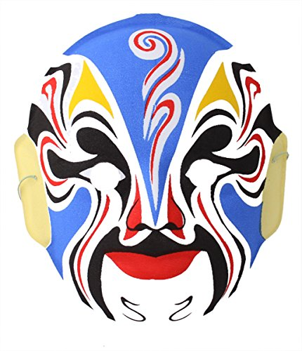 USTEK® Chinese Opera Mask, Christmas Wall Decoration Tree Ornament