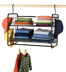 Rubbermaid MN700 Deluxe Hanging Storage Shelf