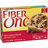 Fiber One Soft Baked Cookies Chocolate Chunk Cookie, 6 Cookies, 6.6 oz.