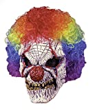 Sinister Evil Clown Scary Horror Latex Adult Halloween Costume Mask