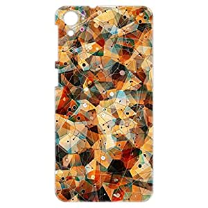 a AND b Designer Printed Mobile Back Cover / Back Case For HTC Desire 826 (HTC_826_3D_810)
