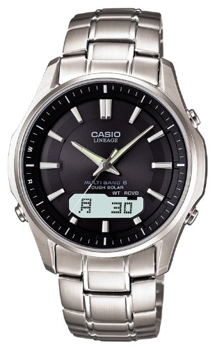 CASIO watch LINEAGE lineage tough solar wave clock MULTIBAND6 LCW-M100D-1A3JFmens watch