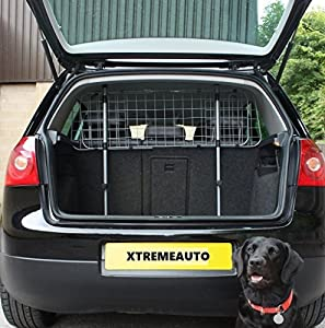 XtremeAuto® Heavy Duty Durable Wire Mesh Dog Guard Pet Car Barrier Cage Complete XtremeAuto Sticker