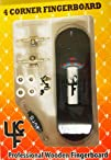 4CFB Complete Wooden Fingerboard with Real Wear UFO Graphic