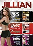 Jillian Michaels Triple DVD Boxed Set (Feat. Ripped in 30, Killer Buns and Thighs, Extreme Shed and Shred)