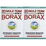Twenty Mule Team Natural Laundry Booster & Multi-Purpose Cleaner, 76oz, 2pk
