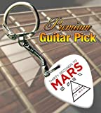 30 Seconds To Mars War Premium Guitar Pick Keyring
