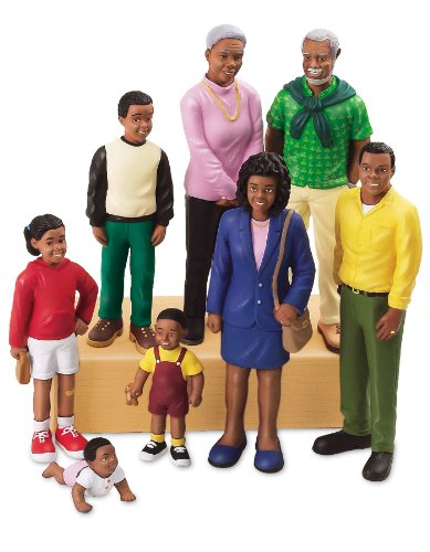 Lakeshore Learning Materials Pretend and Play People Black Family