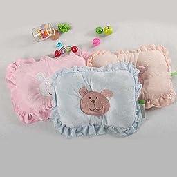 Cute Bear Baby Infant Pillow Prevent Flat Head