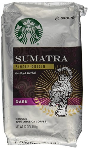 Starbucks Ground Coffee Dark Sumatra Net Wt 12 oz(340g) (Starbucks Ground Coffee Roast compare prices)