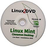 Linux Mint 18, Cinnamon Desktop, Special Edition, 32 & 64 Bit, DVD