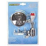 X-Factor 3-Inch Bicycle Generator Light Set (Tamaño: 3-Inch Round)