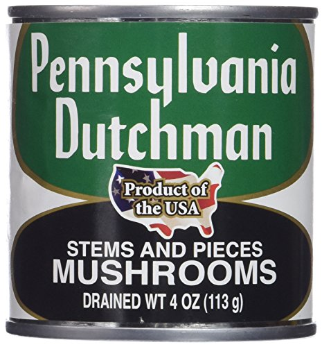 Pennsylvania Dutchman Canned Mushrooms - 12/4 oz. cans (Can Mushroom compare prices)