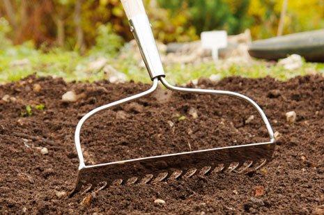 Bodenverbesserung im kr utergarten bei for Boden umgraben