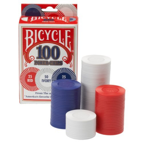 Why Choose Bicycle Poker Chips - 100 count with 3 colors