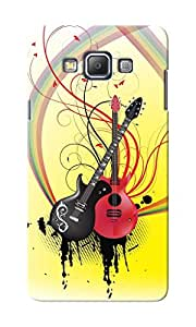 KnapCase Guitars Designer 3D Printed Case Cover For Samsung Galaxy A7