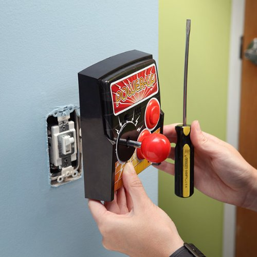 Power-Up-Arcade-Light-Switch-Plate
