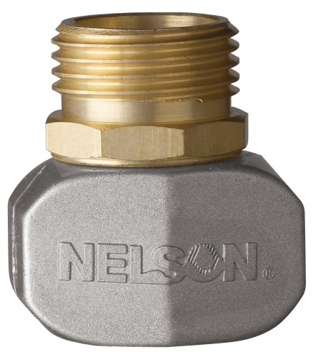 Nelson Brass/Metal Hose Repair Clamp Connector Male 50520 (Male Male Hose Connector compare prices)