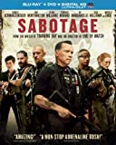 Sabotage (Blu-ray + DVD + DIGITAL