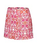 Adidas Golf Women's Contrast Blooming Tattoo Printed Skort
