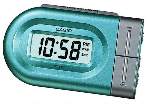 Casio - Dq-543-3Ef - Alarm Clock - Quartz - Digital - Alarm - Silver Stainless Steel Bracelet