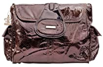 Kalencom Diaper Bag, Elite Cosmopolitan Chocolate