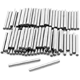Amico 100 Pcs Stainless Steel 1.5mm x 15.8mm Dowel Pins Fasten Elements