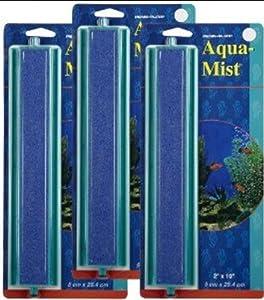 Penn Plax 3-Pack Aqua Mist Add-A-Stone Aerating Aquarium Ornaments, 10-Inch