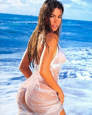 SOFIA VERGARA See Thru Wet Butt Shot 009 8x10 PHOTO