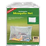 Coghlan's Single Wide Rectangular Mosquito Net, White (Color: White)