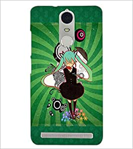 PrintDhaba Cartoon D-4089 Back Case Cover for LENOVO K5 NOTE (Multi-Coloured)