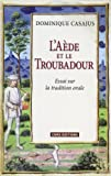 img - for l'a de et le troubadour ; essai sur la tradition orale book / textbook / text book