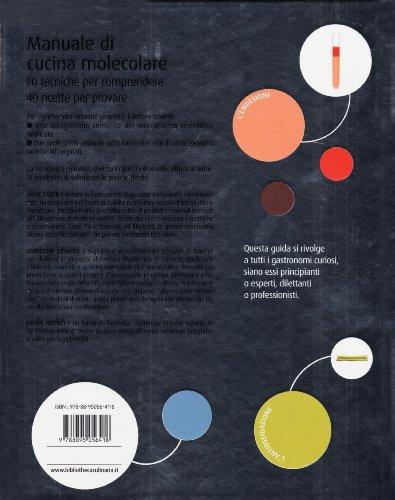 libro manuale di cucina molecolare di anne cazor