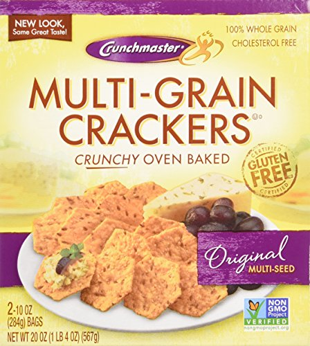 ... about Crunchmaster Multi-Grain Crackers, Gluten Free, 20 oz. New