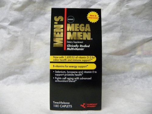 GNC Mega Men 180 cap ex 06-2011