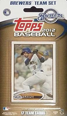MLB Milwaukee Brewers Licensed 2012 Topps® Team Sets