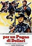 Per Un Pugno Di Dollari - For A Few Dollars More 2 Amigos Italian Huge Film PAPER POSTER measures approximately 100x70 cm Greatest Films Collection Directed by Sergio Leone. Starring Clint Eastwood, Gian Maria Volonté, Aldo Sambrell