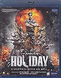 Holiday Hindi Blu-Ray (Akshay Kumar, Sonakshi Sinha) (Bollywood/Indian Cinema/Film/2014 Movie) (2014)