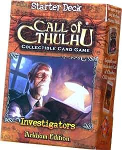Call of Cthulhu CCG Arkham Edition Investigator Starter Deck