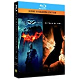"Batman - The Dark Knight/Batman Begins - Steelbook [Blu-ray]von ""Christian Bale"""